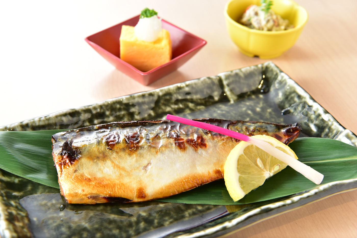 トロサバの味噌麹漬け焼き<br />ごはん・漬物・みそ汁・ドリンク付