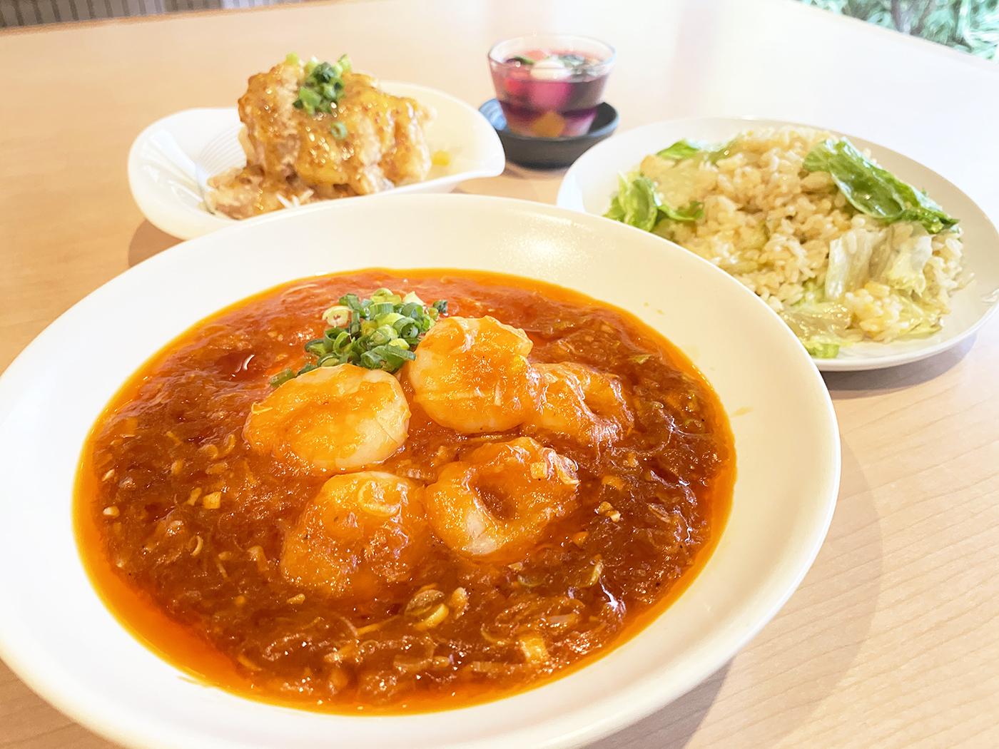 【1日限定5食】中華御膳<br />スープ・漬け物・ドリンク付