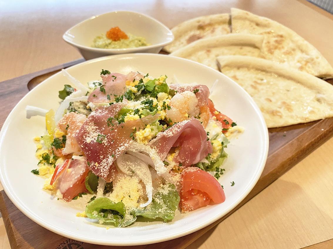 【NEW】サラダピッツァプレート